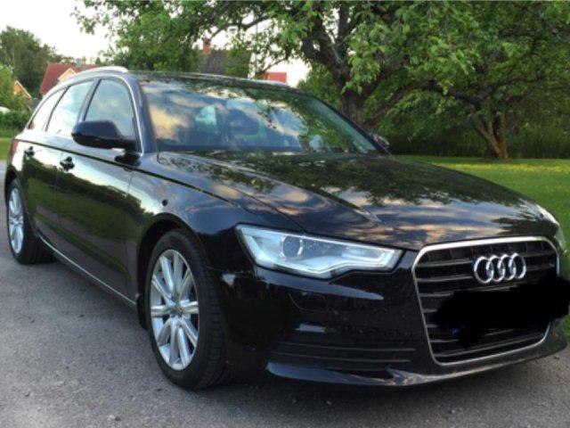 Audi A6 bortskänkes