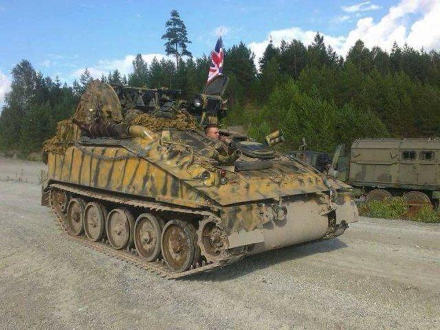 Pansarbandvagn CRVT FV 102 Striker